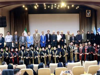 برگزاری جشن فارغ التحصیلی دانشجویان موسسه آموزش عالی بینالود مشهد-شهریور98