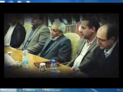 نشست رؤسای دانشگاهها ومؤسسات غیردولتی منطقه 9 کشور-9 آذر96
